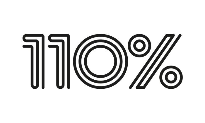 Kunden-Logo von 110%