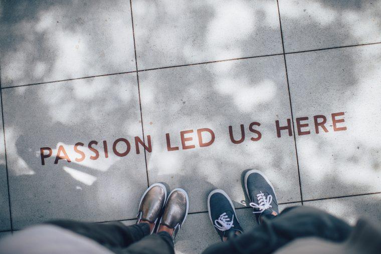 Sinnbild für Employer Branding - Leidenschaft Graffiti